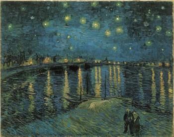 罗纳河上的星夜