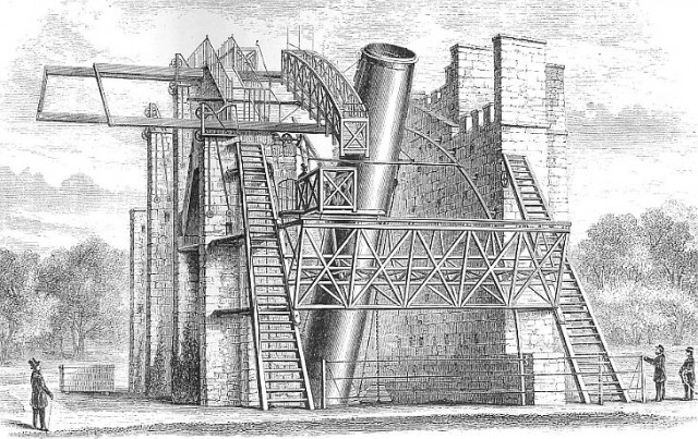 罗斯勋爵的巨兽望远镜