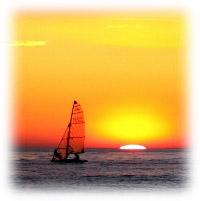 Trieste的日落